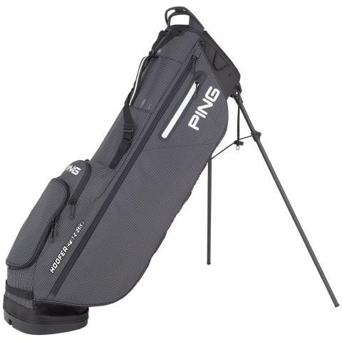 PING Hoofer Craz-E-Lite Golf Stand Bag Black/White