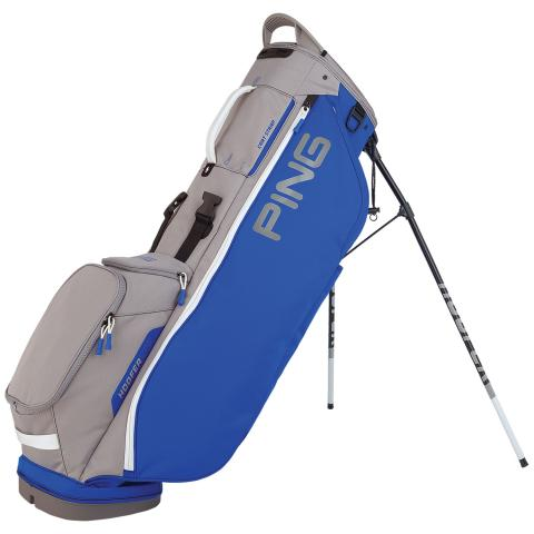 PING Hoofer Lite Golf Stand Bag Royal/Silver/White