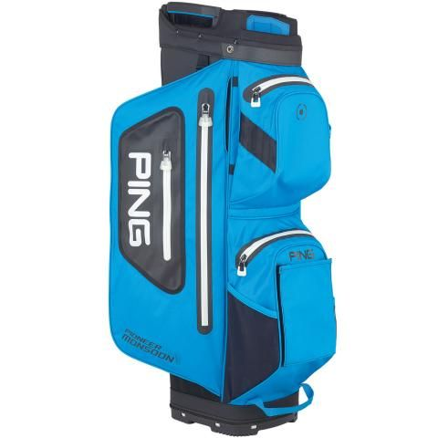 Ping 2020 Pioneer Monsoon Waterproof Golf Cart Bag Azure