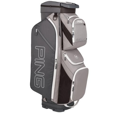 PING Traverse Golf Cart Bag Silver/Grey/White