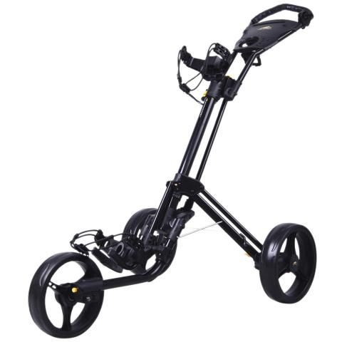 PowaKaddy Twinline 4 Golf Push Cart Black