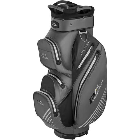 PowaKaddy 2020 Dri-Tech Golf Cart Bag Titanium/Black/Silver