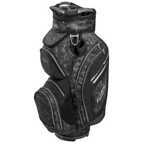 PowaKaddy 2020 Premium Tech Golf Cart Bag Grey Camo/Black/Silver