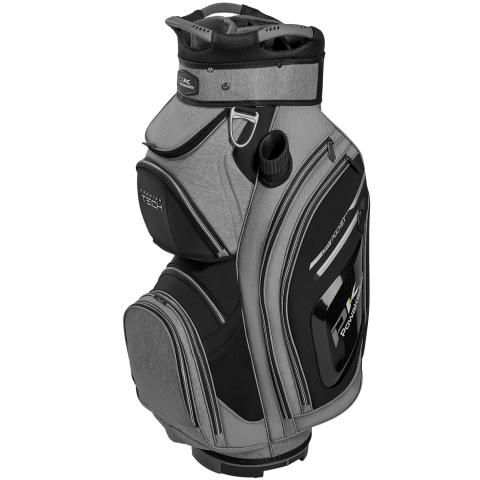 PowaKaddy 2020 Premium Tech Golf Cart Bag Heather Grey/Black/Silver