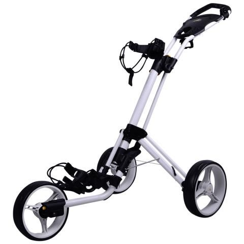 PowaKaddy Twinline 4 Golf Push Cart White