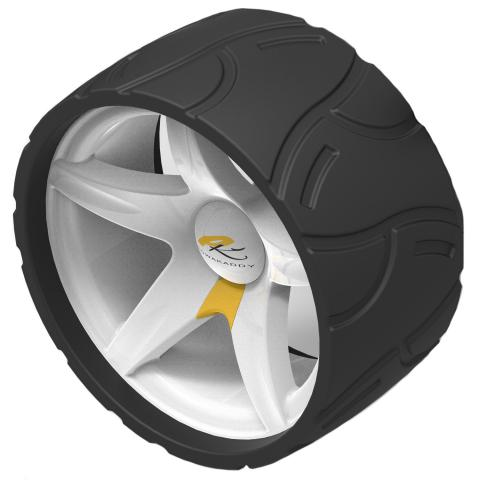 Powakaddy Wide Wheels Compatible with all models