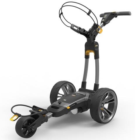 PowaKaddy 2020 CT6 EBS Electric Golf Trolley Gun Metal / Lithium Battery