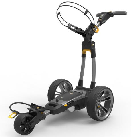 PowaKaddy 2020 CT6 GPS Electric Golf Trolley Gun Metal / Lithium Battery