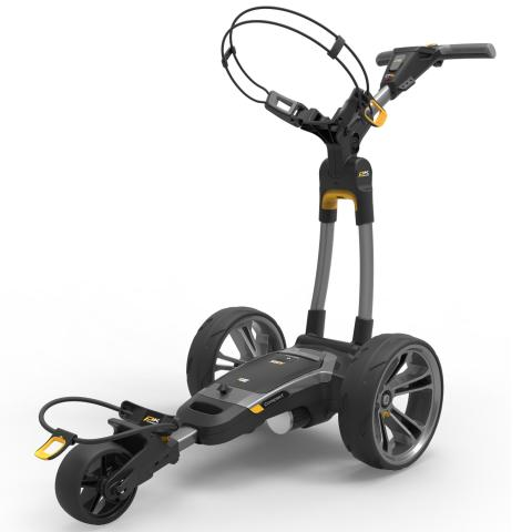 PowaKaddy 2020 CT6 GPS EBS Electric Golf Trolley Gun Metal / Lithium Battery