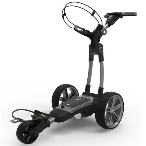 PowaKaddy 2020 FX7 EBS Electric Golf Trolley Gun Metal / Lithium Battery