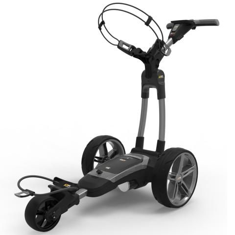 PowaKaddy 2020 FX7 GPS Electric Golf Trolley Gun Metal / Lithium Battery