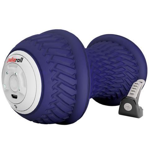 Pulseroll Vibrating Peanut Massage Ball Purple 4 vibration levels, 3 hour battery life, remote control