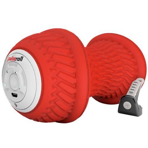 Pulseroll Vibrating Peanut Massage Ball Red 4 vibration levels, 3 hour battery life, remote control
