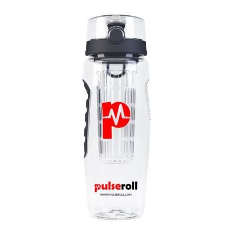 Pulseroll Infuser 3 in 1 Water Bottle Protein Shaker/ Fruit Infuser/Water Bottle