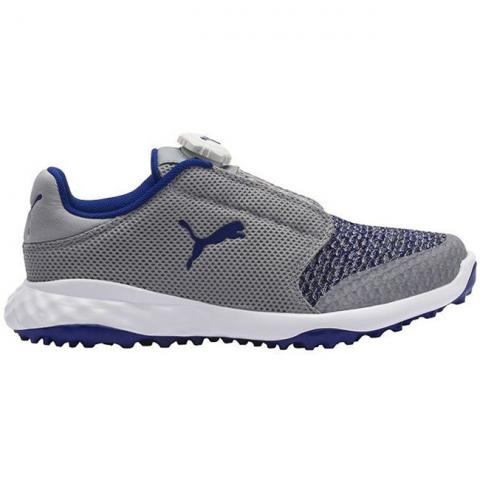 Puma Grip Fusion Sport Disc Junior Golf Shoes Quarry/Surf The Web