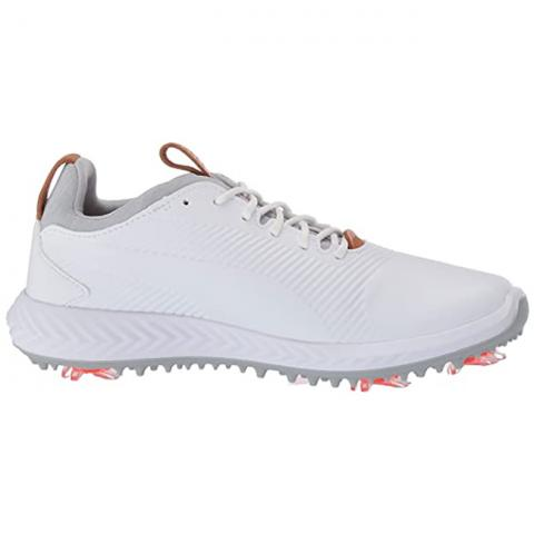 Puma Ignite PWRADAPT 2.0 Junior Golf Shoes Puma White