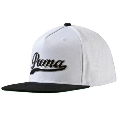 Puma Script Snapback Baseball Cap