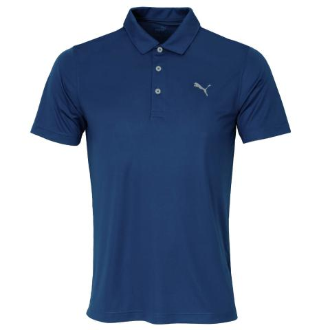 Puma Rotation Polo Shirt Dark Denim