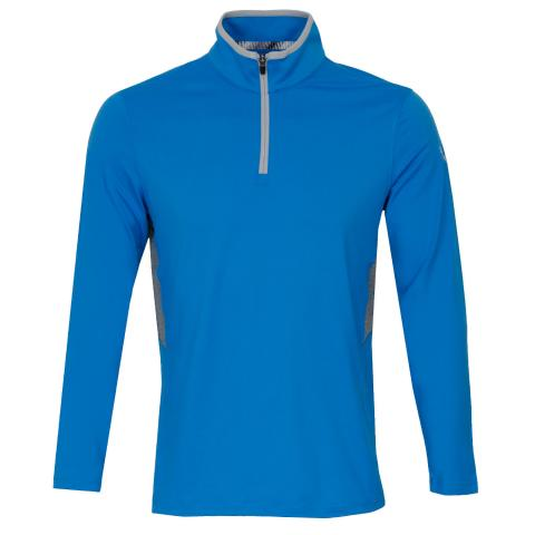Puma Golf Rotation Zip Neck Sweater Ibiza Blue