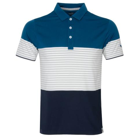 Puma Cloudspun Taylor Polo Shirt Digi Blue