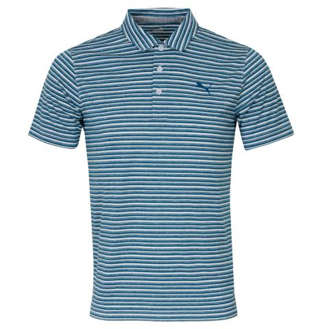 Puma Golf Links Polo Shirt Digi Blue