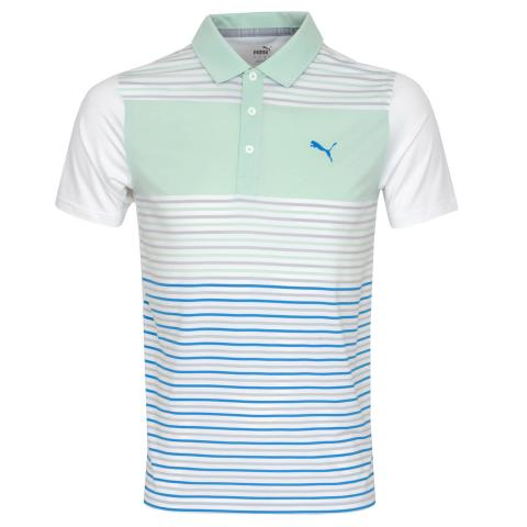 Puma Golf Floodlight Polo Shirt Mist Green