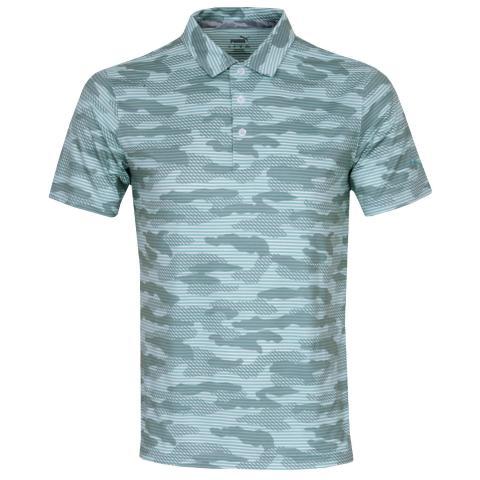 Puma Cloudspun Camo Polo Shirt