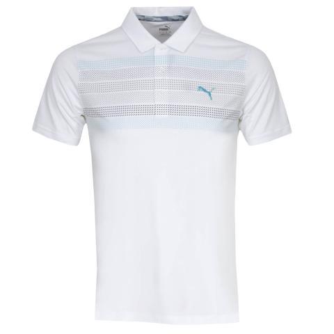 Puma Road Map Polo Shirt Bright White