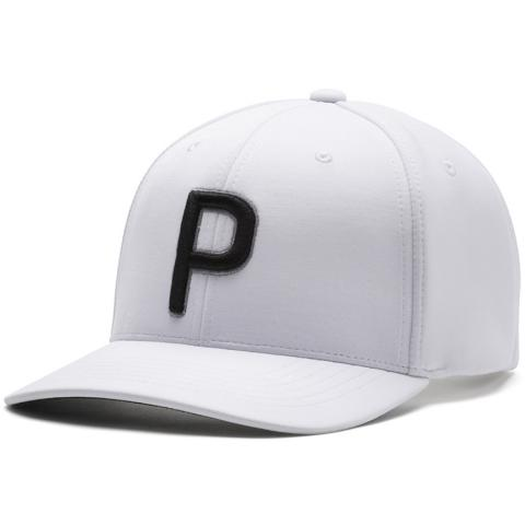 PUMA Golf P110 Snapback Baseball Cap Bright White