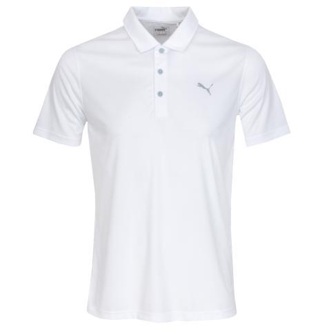 Puma Rotation Polo Shirt Bright White