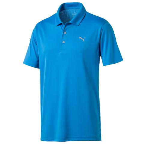 Puma Rotation Polo Shirt Ibiza Blue