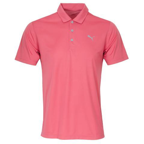 Puma Rotation Polo Shirt Rapture Rose
