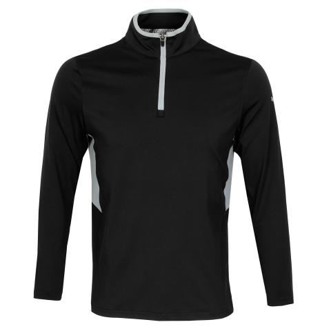 PUMA Golf Rotation Zip Neck Sweater Black