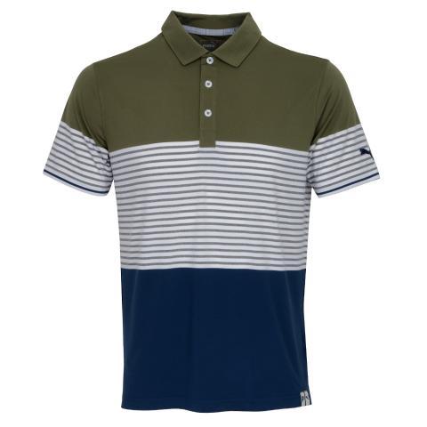 Puma Taylor Polo Shirt Deep Lichen Green