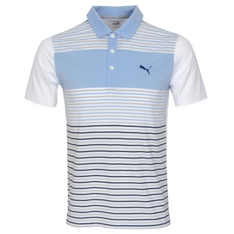 Puma Golf Floodlight Polo Shirt Blue Bell