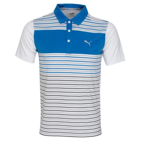 Puma Golf Floodlight Polo Shirt Ibiza Blue