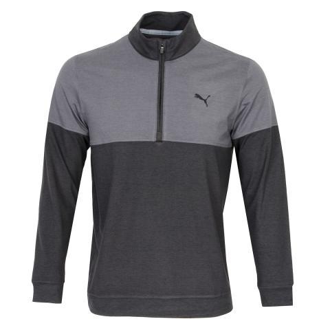 Puma Warm Up Zip Neck Sweater