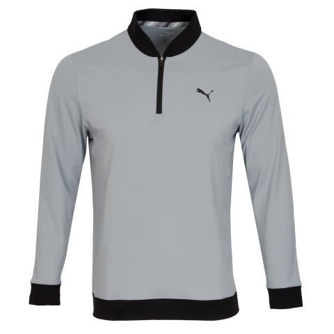 Puma Golf Rotation Stealth Zip Neck Sweater