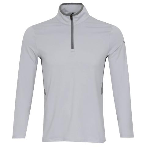PUMA Golf Rotation Zip Neck Sweater High Rise