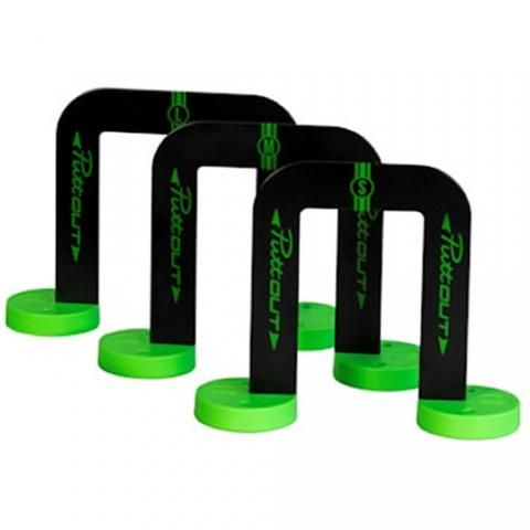 PuttOUT Pro Putting Gates Pack of 3 - 50mm, 60mm, 70mm
