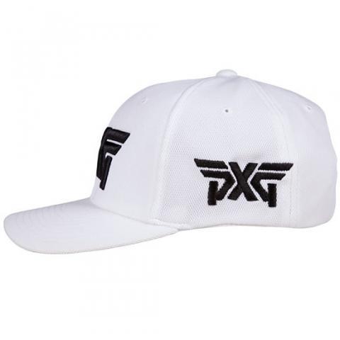 PXG Tour Flexfit Baseball Cap White Black  cc8c5903fb2