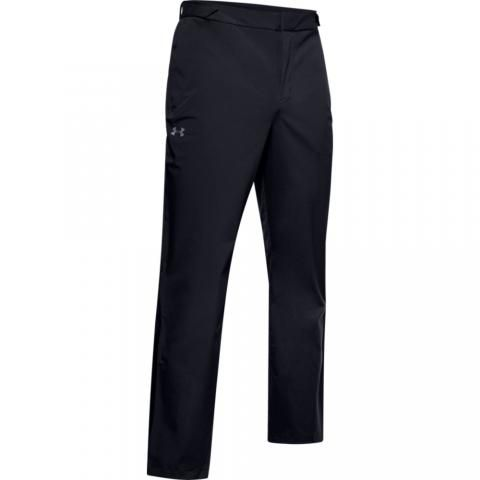 Under Armour Storm Waterproof Golf Trousers Black/Pitch Gray