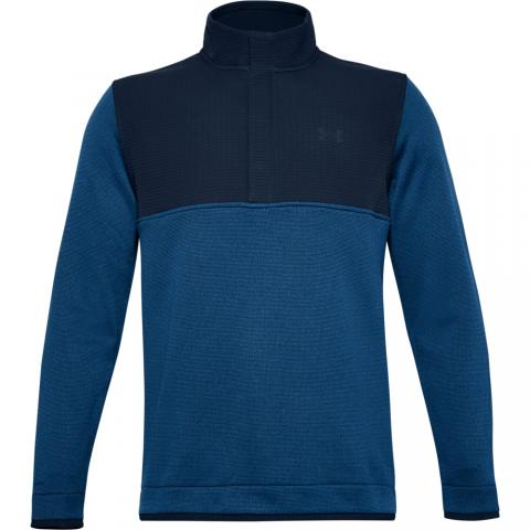 Under Armour Storm SweaterFleece Snap Neck Sweater Academy/Graphite Blue