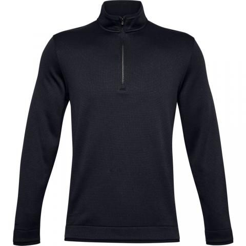 Under Armour Storm SweaterFleece Zip Neck Sweater Black