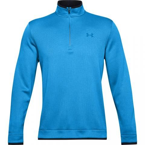 Under Armour Storm SweaterFleece Zip Neck Sweater Electric Blue/Dynamic Blue
