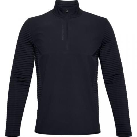 Under Armour Storm Evolution Daytona Zip Neck Sweater Black