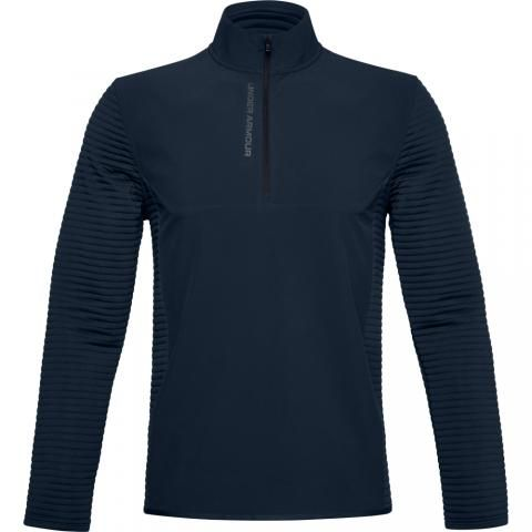 Under Armour Storm Evolution Daytona Zip Neck Sweater Academy/Black