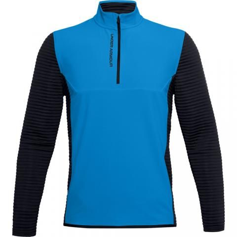 Under Armour Storm Evolution Daytona Zip Neck Sweater Electric Blue/Black