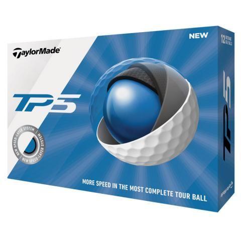 TaylorMade 2020 TP5 Golf Balls White / Dozen