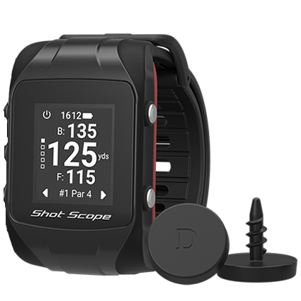 Shot Scope V2 GPS Golf Watch and Game Tracker #1 Golf Improvement Tool